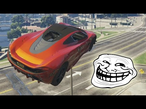 CARRERA TROLL! EL HOMBRE ANTI TROLL!! - Gameplay GTA 5 Online Funny Moments (Carrera GTA V PS4)
