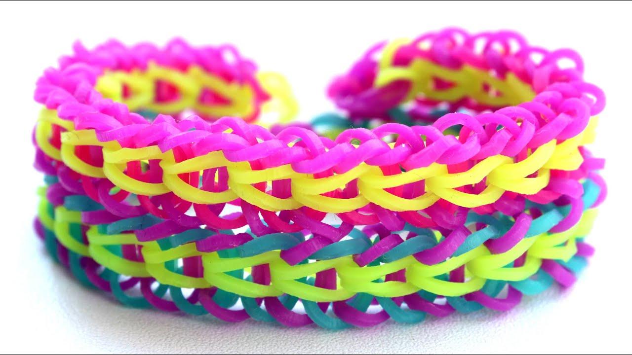 Картинки плетение из резиночек браслеты