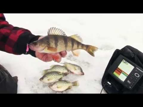 Ice fishing with spoons from Custom Jigs & Spins | The Technological Angler