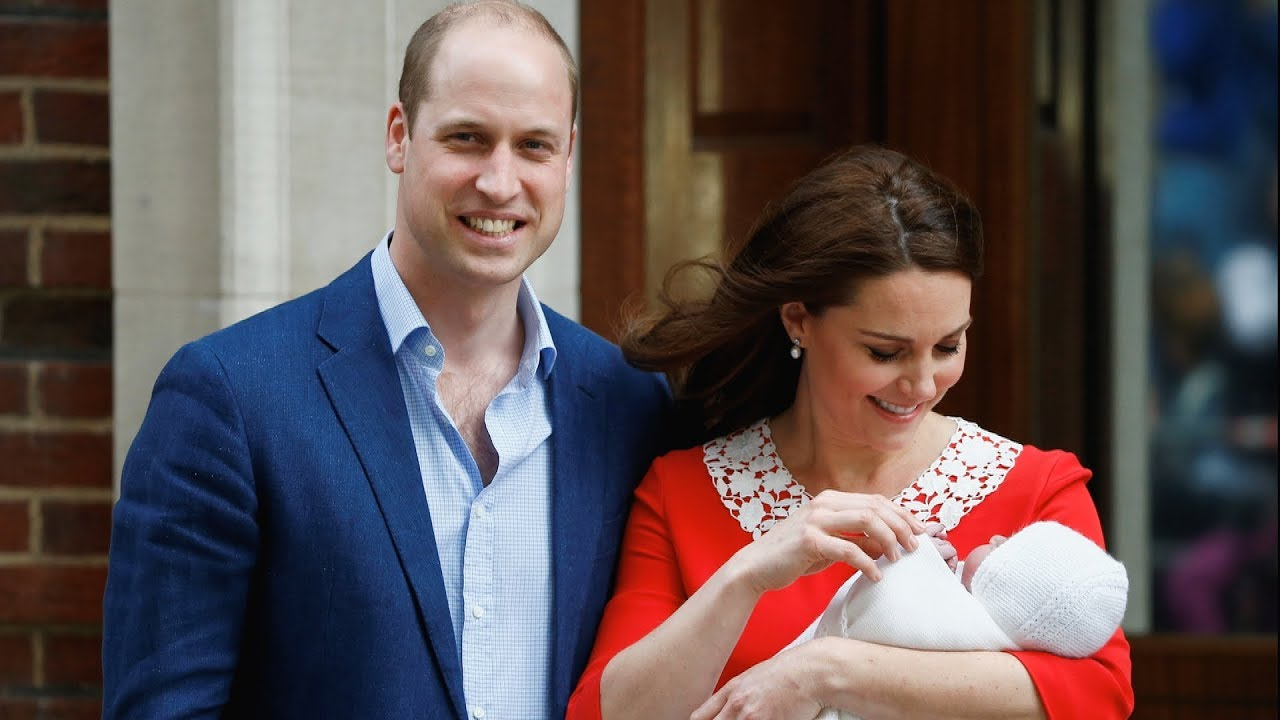 Highlights from hospital: Prince William and wife Kate welcome baby boy