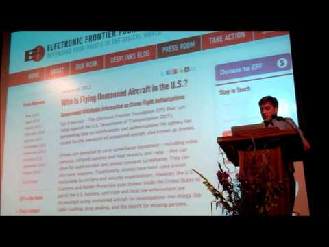 Trevor Timm, Electronic Frontier Foundation addresses ACLU Sonoma County Award Dinner 2013