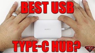 Best USB Type C Hub All In One Solution?| Aukey USB Type C Hub Unboxing