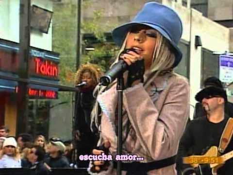 Impossible  Christina Aguilera  subtítulos en español