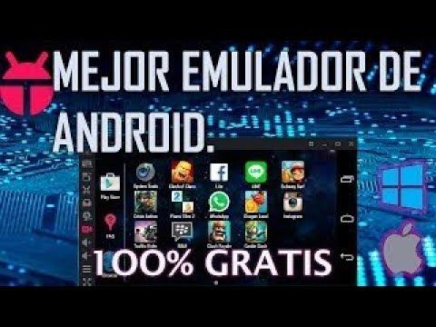 El Mejor Emulador De Android Para Pc 2017 - 2018!!