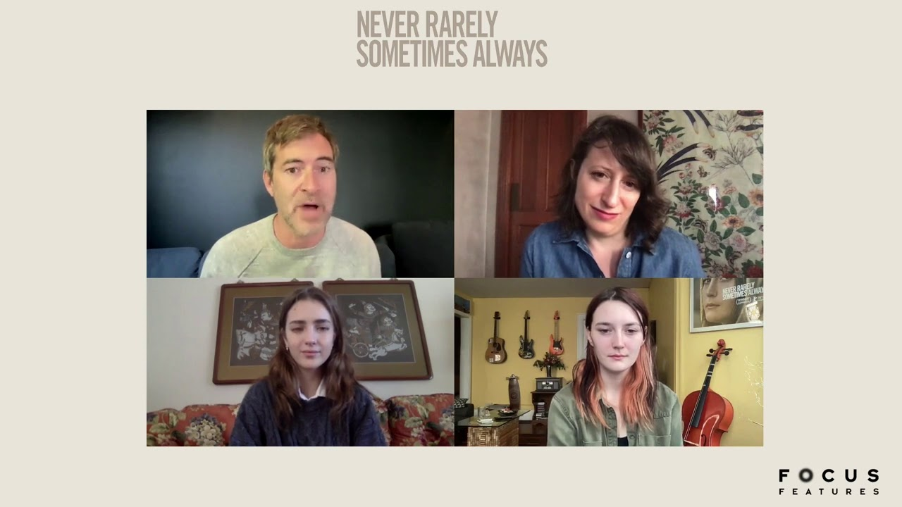 NEVER RARELY SOMETIMES ALWAYS - Q&A With Mark Duplass