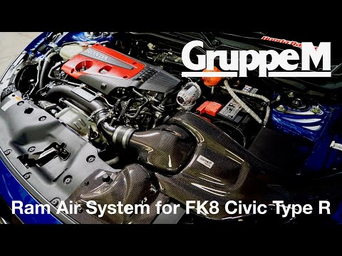 How to Install the GruppeM Ram Air System for Honda Civic Type R (FK8)