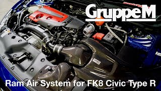 video thumbnail of How to Install the GruppeM Ram Air System for Honda Civic Type R (FK8)