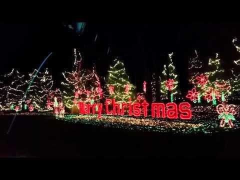 Sebo's Christmas Light Display Salem, Ohio