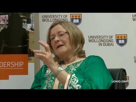 "DBWC  & UOWD Leadership Seminar 2 :  ""Entrepreneurial Leadership and Isobel Abulhoul,OBE"