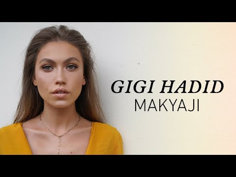 Gigi Hadid Makyajı & Iphone7 Hediyesi   Gigi Hadid Makeup Tutorial