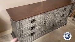 Vintage Mid Century Burlington Sideboard, Buffet, Media Console, Dresser Review