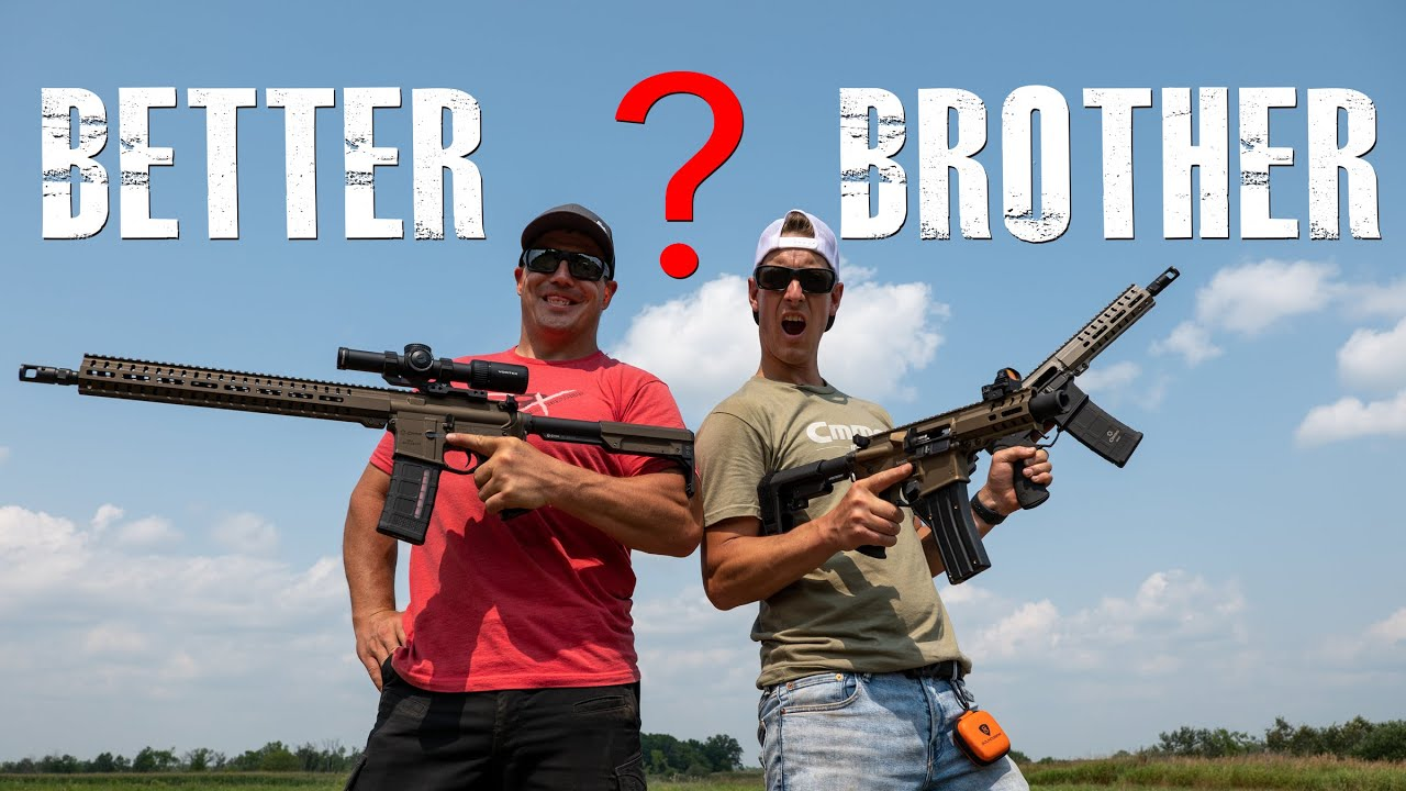 AR Rifle and Pistol Brother Battle | Gould Brothers