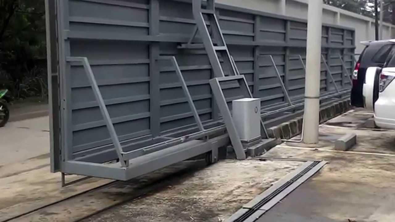 Pintu Gerbang Pabrik Otomatis Turbo400 Youtube