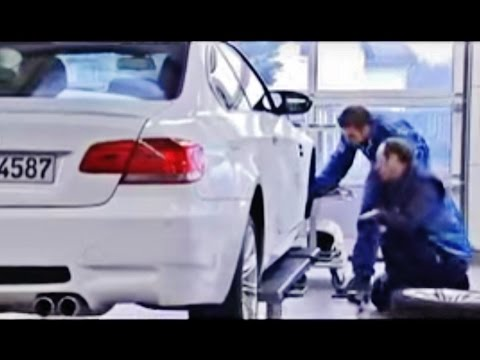 BMW M GmbH Factory. Chassis design. Engine development and tests