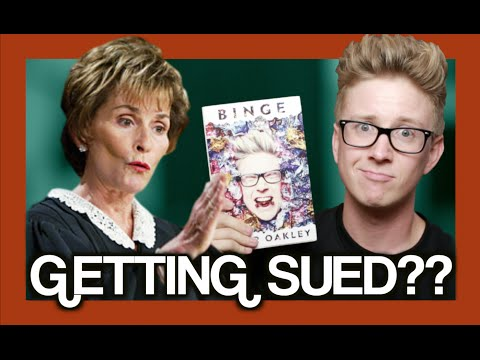 SUED BECAUSE OF MY BOOK??? | Tyler Oakley