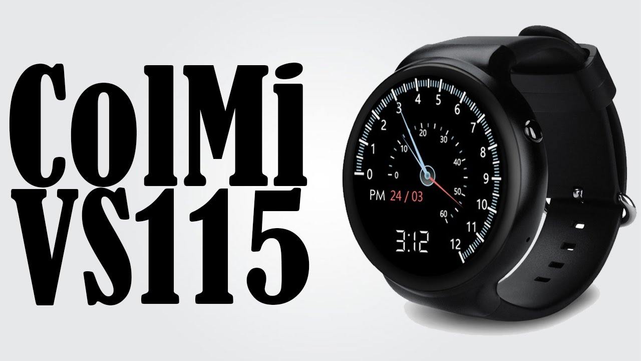 Часы Colmi VS115 Android 5.1 обзор