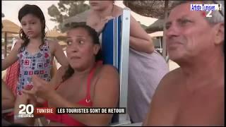 Reportage France 2 : Les touristes sont de retour en Tunisie