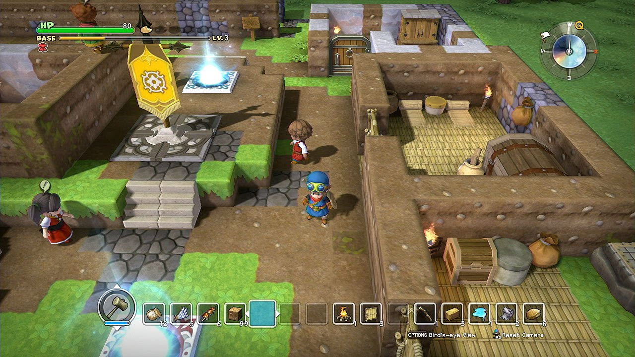 Resultado de imagem para Dragon Quest Builders