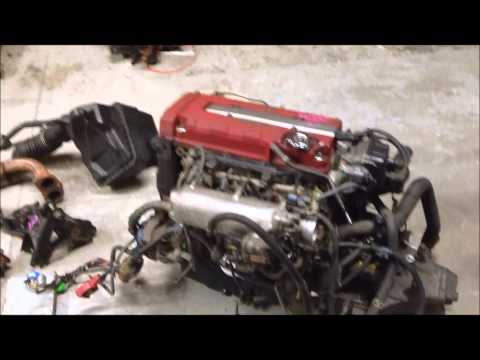 JDM Honda B16B Vtec Engine EK9 CTR, LSD Transmission, ECU, Civic Type R motor