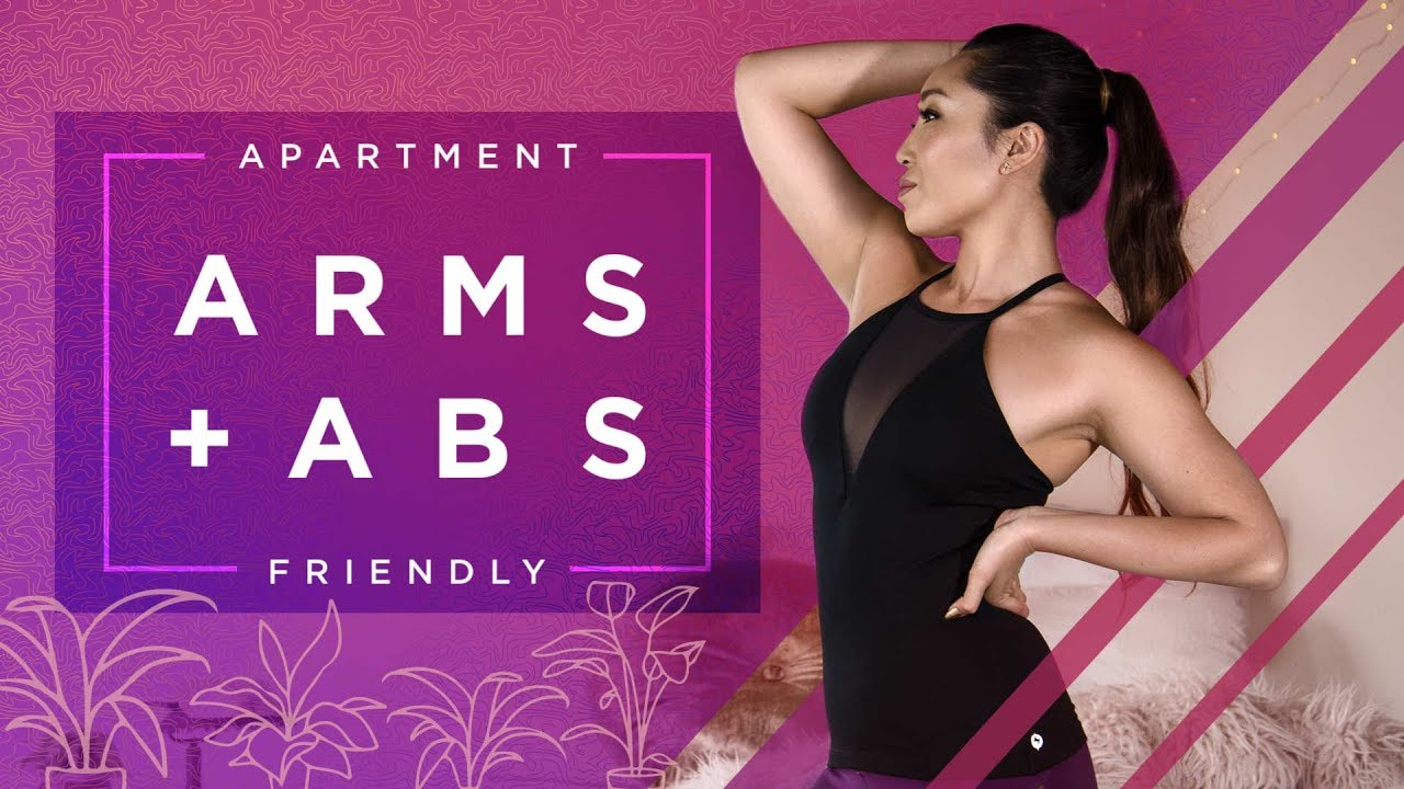 toned arms flat abs apartment friendly workout youtube. Black Bedroom Furniture Sets. Home Design Ideas