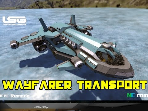 Space Engineers - Wayfarer Small Transport