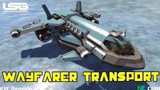 Space Engineers - Wayfarer Small Transport