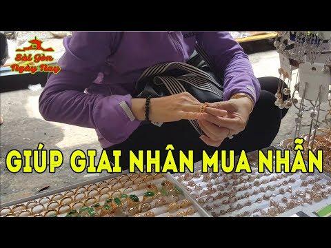 Tư vấn mua Vàng & Kim Cương cho chị gái dễ thương ở Sài Gòn
