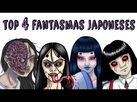 TOP 4 FANTASMAS JAPONESES   Draw My Life