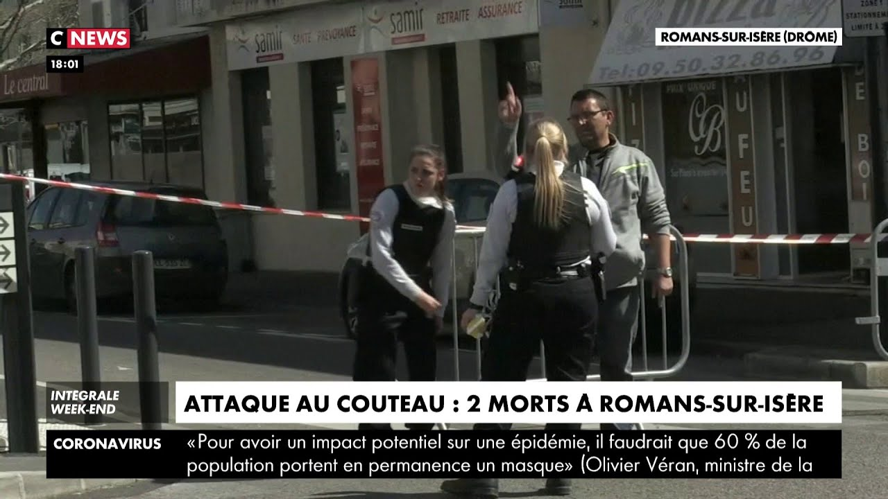 Attaque au couteau : deux morts à Romans-sur-Isère