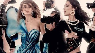 Gigi and Bella Hadid Are the New Faces of Moschino -- See Their Glam Campaign