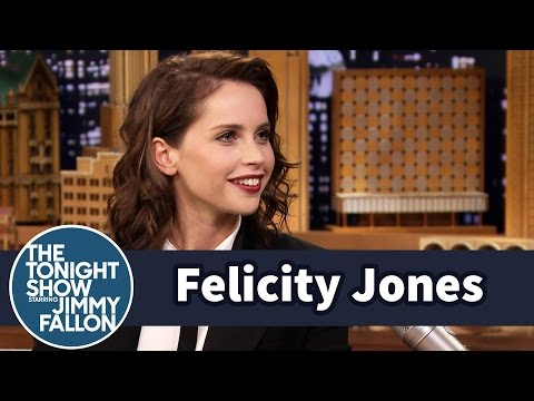 Felicity Jones Was the Worst Witch