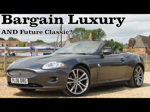 Jaguar XK – Luxury Car Bargain AND Future Classic? (2006 X150 4.2 Convertible Driven)