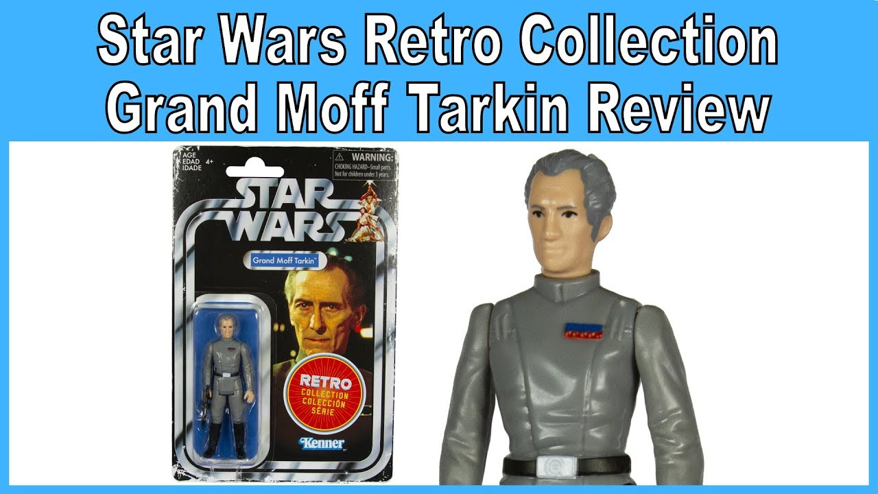 GRAND MOFF TARKIN RETRO COLLECTION STAR WARS 2019 FIGURE TVC VINTAGE DEATH STAR