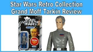 Star Wars Retro Collection Grand Moff Tarkin (Escape From Death Star Game) Review - Target Exclusive