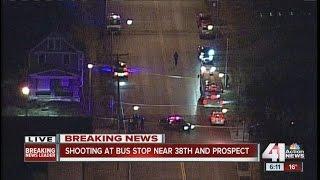 Woman shot on bus in Kansas City, Missouri