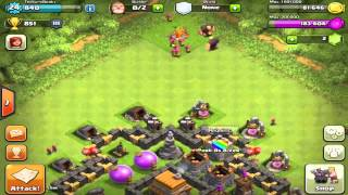 Clash of Clans Let's Raid Ep.7 - Successful Raid!