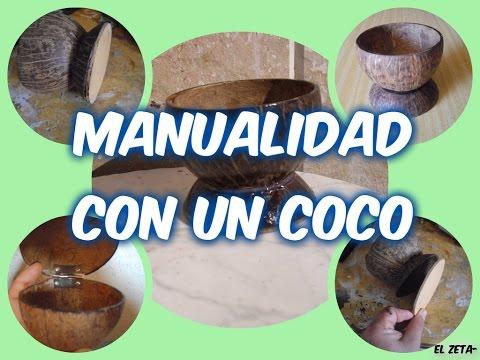 Cómo Hacer Un Cuenco Con Un Coco 1
