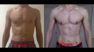 Gain muscle with Freeletics!   15 weeks Freeletics result