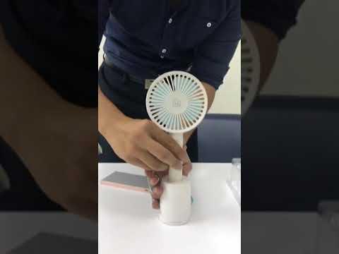 手持電風扇功能介紹