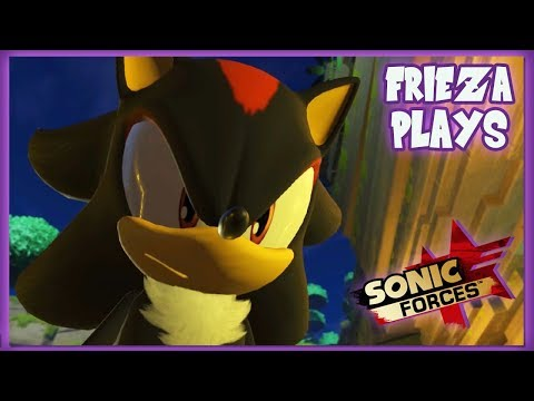 EPISODE OF SHADOW! FRIEZA PLAYS SONIC FORCES!