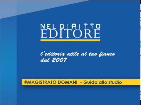 #MAGISTRATO DOMANI  - Guida allo studio - neldirittoeditore