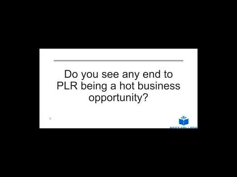 What You Should Know about Starting a PLR Business
