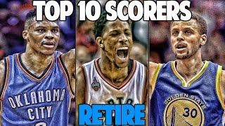 Who wins mvp if the top 10 nba leading scorers retire? nba 2k17 myleague