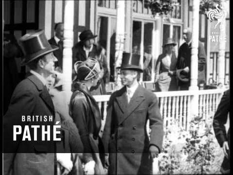 Royal Show Opens (1922)