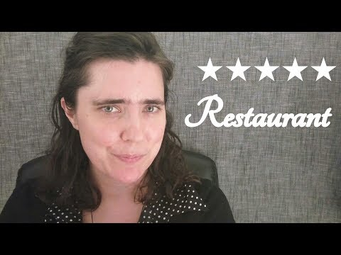ASMR Tingledom Five Star Restaurant Role Play