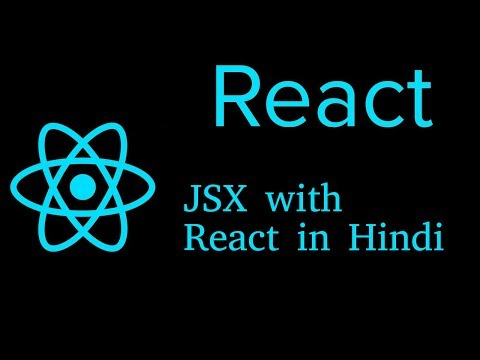 React js Hindi Tutorial #7 JSX thumbnail