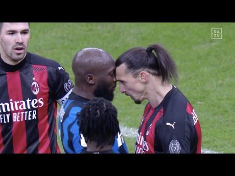 Beef beim Milan-Derby: