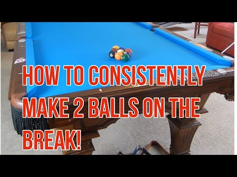 Thumbnail: How to Consistently Make 2 or More Balls on the Break in Every Game!