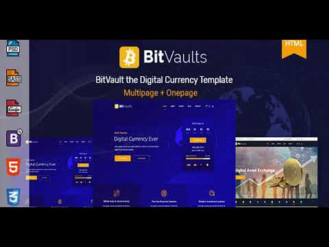 Bitvaults | ICO, Bitcoin and Cryptocurrency HTML Template | Themeforest Website Templates and Themes