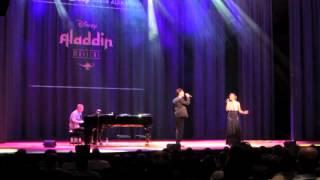 Johannes Nymark and Maria Lucia sing Et Helt Nyt Liv